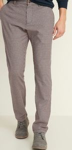 Slim Fit built-in textured pants